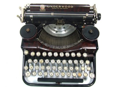 Source via USB Typewriter