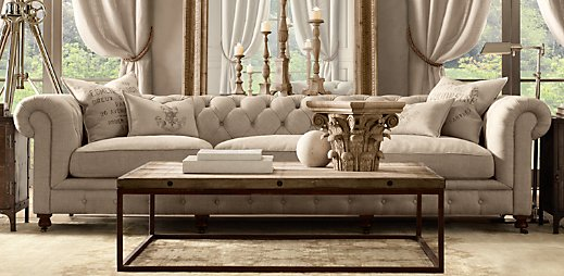 Source via Restoration Hardware