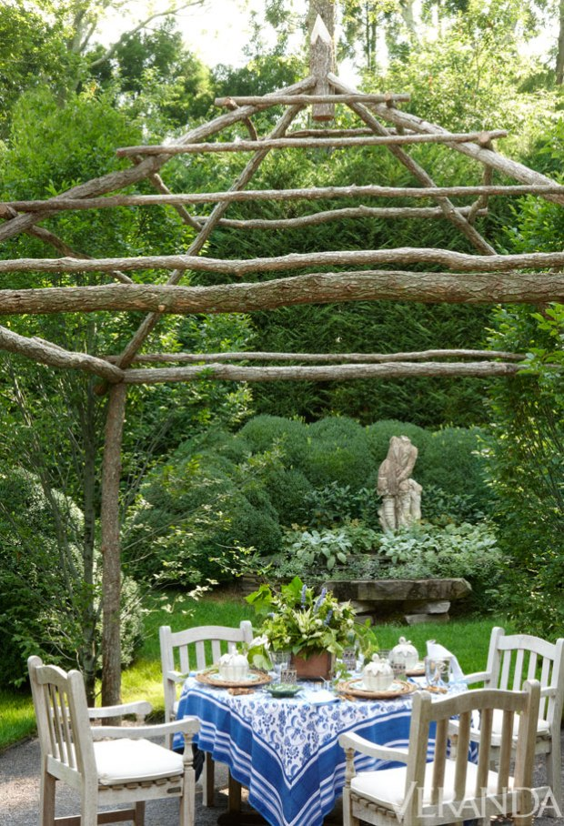 Veranda.com | Charlotte Moss Landscape Garden Design III
