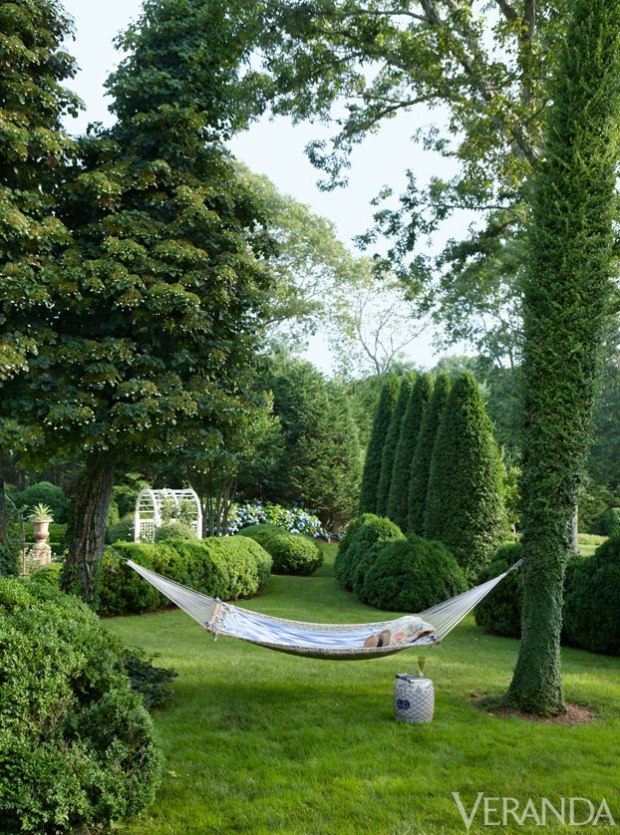 Veranda.com | Charlotte Moss Landscape Garden Design
