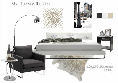 Mr. Ruano's Design | Modern Bedroom Design | Boogie's Boutique