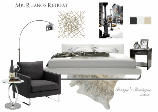 Mr. Ruano's Design | Modern Bedroom Design | Boogie's Boutique