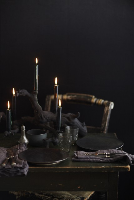 Boogies Boutique Black Candles